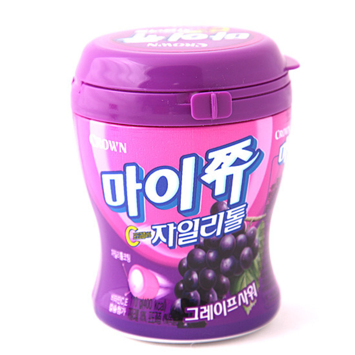 Chewy Fruit Snack Flavored Gummy - Grape 110g