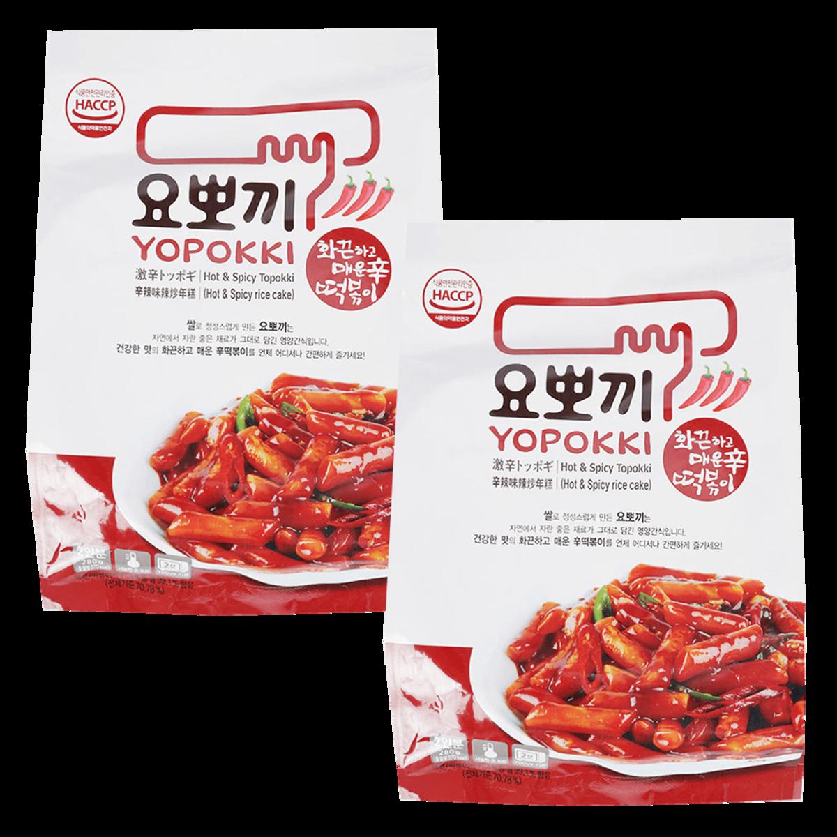 韓國Yopokki 激辛!辣炒年糕(料理包) 240g x 2