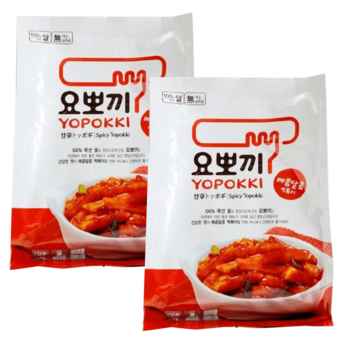 Korea Yopokki Spicy Rice Cake (Cook Bag) 280g x 2