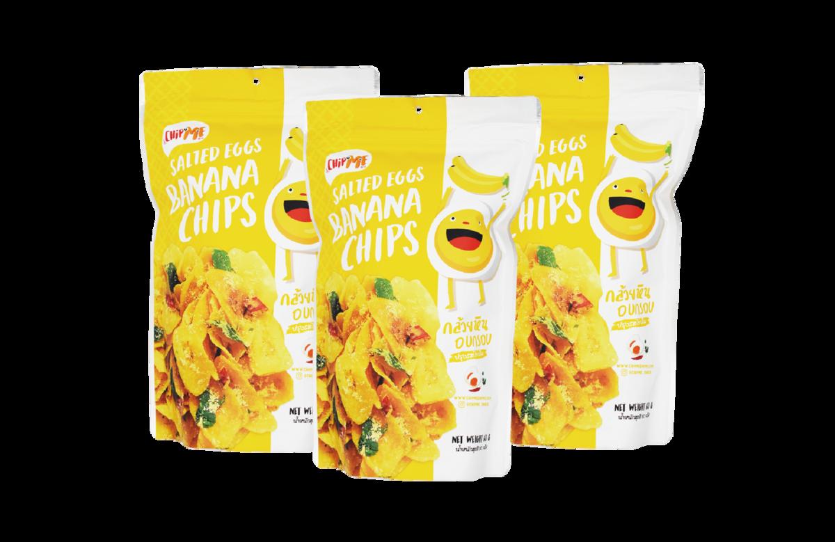 Salted Banana Chips x 3