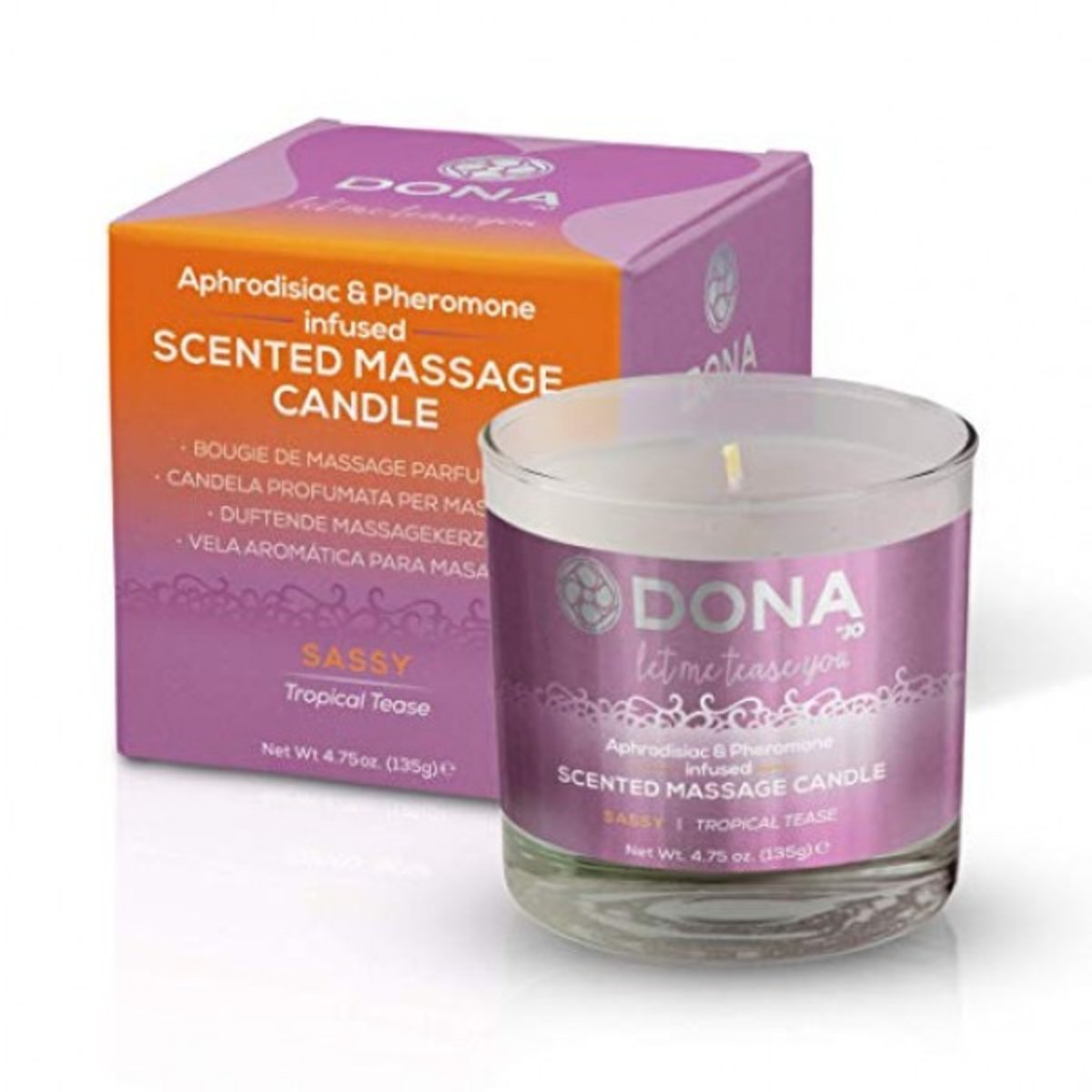 Scented Massage Candle Tropical Tease 135g