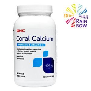 GNC 珊瑚鈣加鎂及維他命D3 180片 (平行進口) (77768)