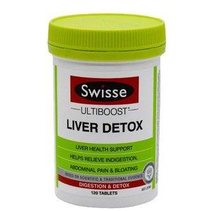 Swisse Ultiboost Liver Detox Tablets (120 Tablets) [Parallel Import]