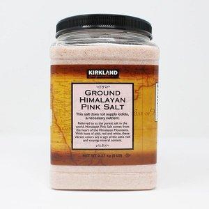 Kirkland Signature 喜馬拉雅粉紅鹽(5磅裝)
