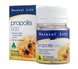 Natural Life 蜂膠膠囊 500毫克 60粒