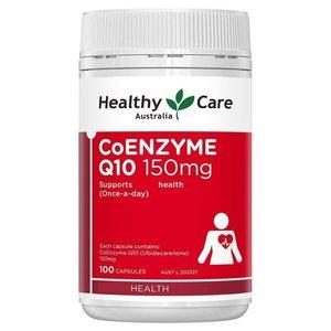 Healthy Care 輔酶Q10 膠囊 150mg 100粒 (平行進口)