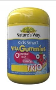 Nature's Way Nature's Way - Kids Smart Omega-3魚油軟糖 60粒