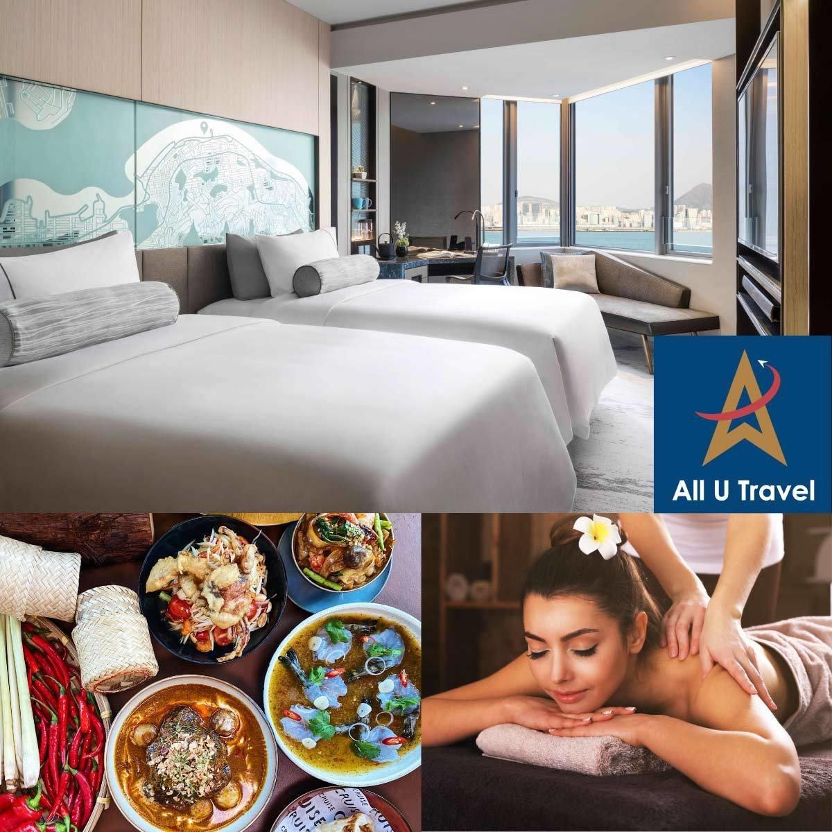 1 Set - Hyatt Centric Victoria Harbour Hong Kong ''We Miss Thailand'' Room Package (Mon-Thu)