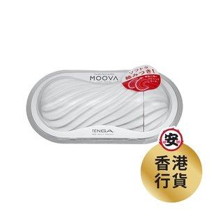 TENGA TENGA - MOOVA  [白色] - 重複使用型|自慰杯 飛機杯