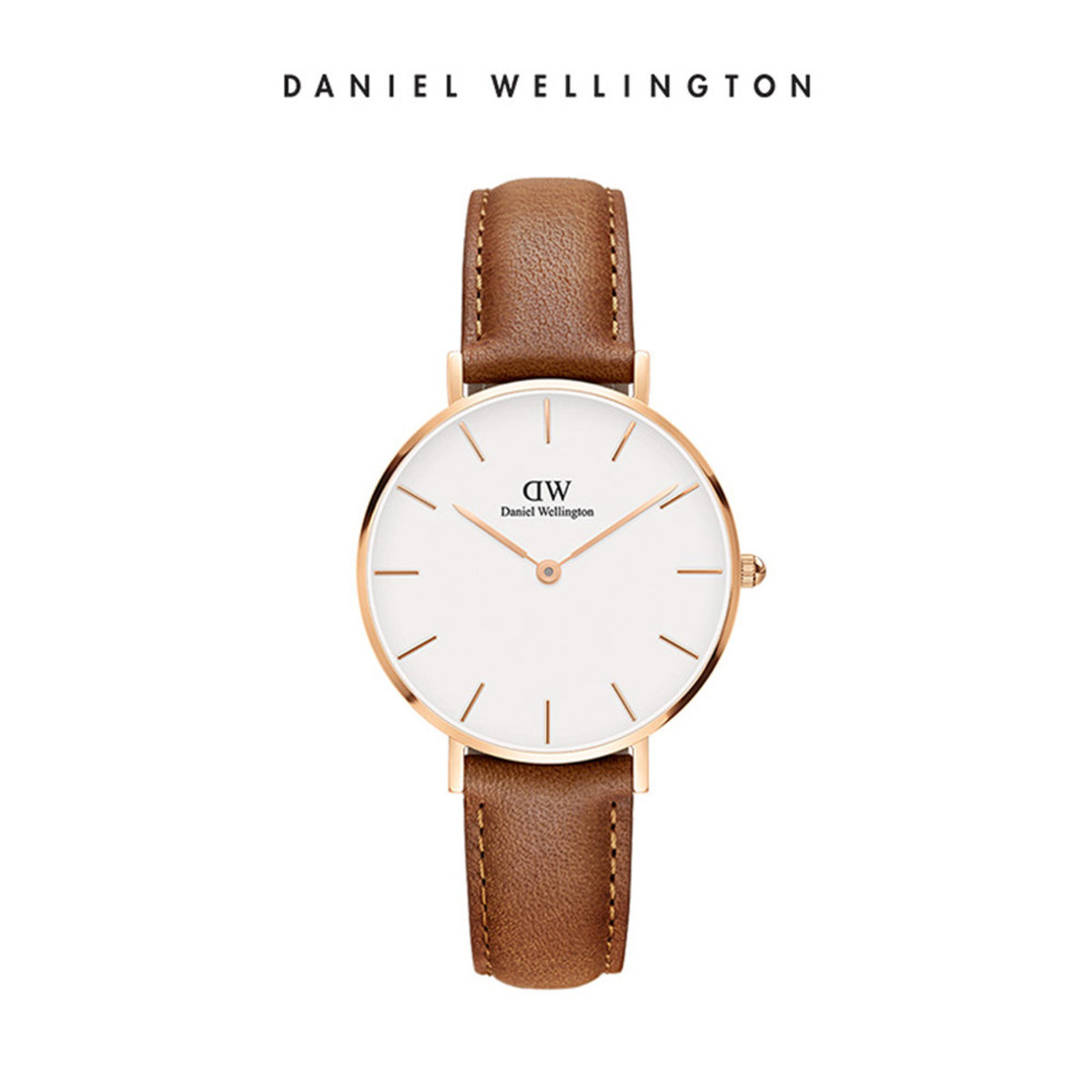 Petite Durham Watch Rose Gold 32mm