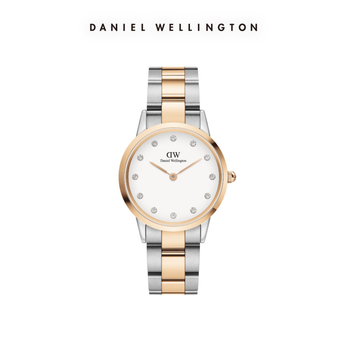Iconic Lumine Watch Rose Gold/Sliver 32mm