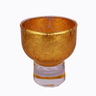 Gold alcohol glass