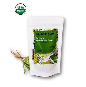 TeAROMA 有機蒲公英根茶 100g/幫助排毒/有利肝及膽臟健康
