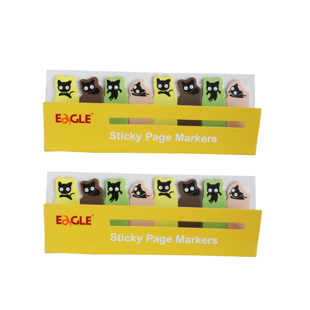 TYSN7387 Kitty Sticky Page Markers