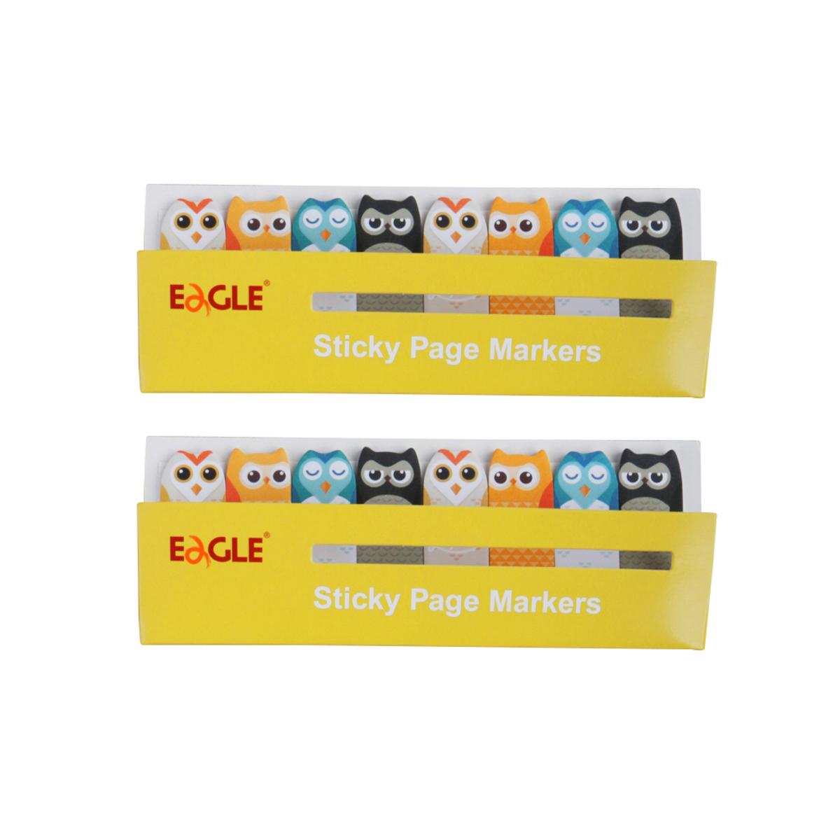TYSN7388 Owl Sticky Page Markers