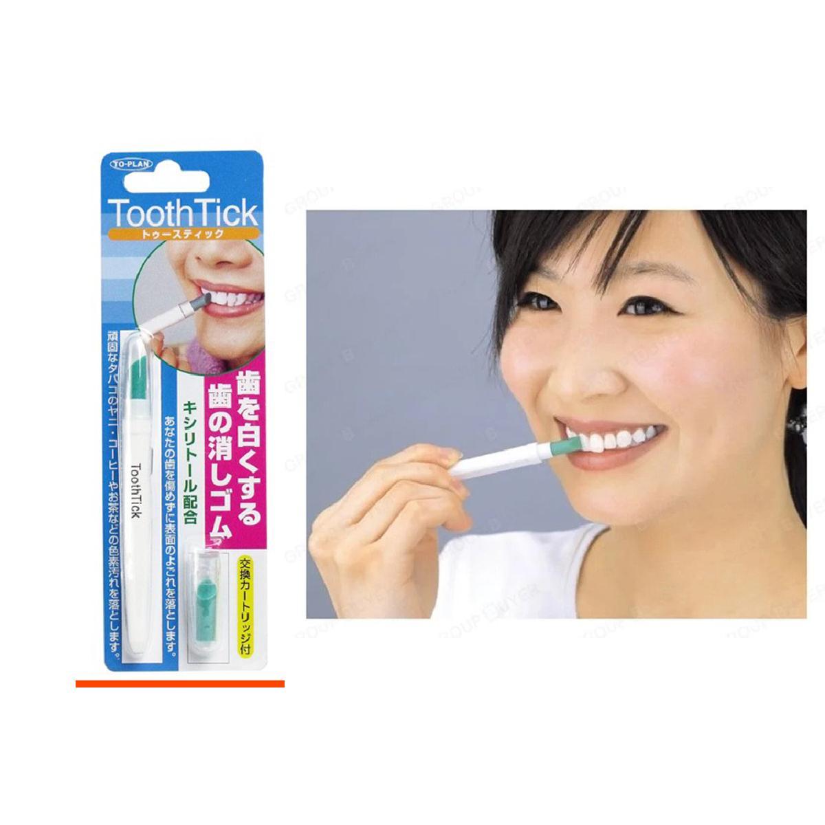 日本 ToothTick 隨身牙齒美白擦擦筆