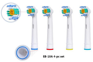 SMAT 4 件裝 Oral B / Braun 電動牙刷代用刷頭 (EB-18A) 4 個