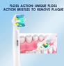 4 件裝 Oral B / Philips 電動牙刷代用刷頭 (EB-25A)