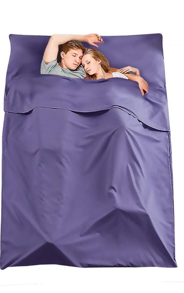 便攜式旅行睡袋 (雙人)