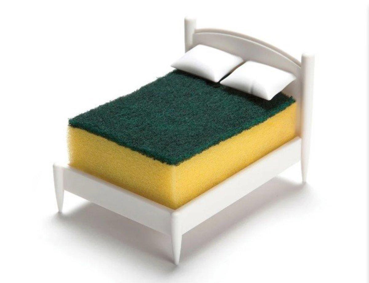 Little Bed Shape Kitchen Sponge Holder