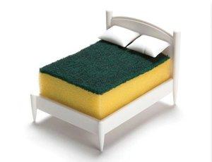 SMAT 小床造型清潔刷置物架 1 個