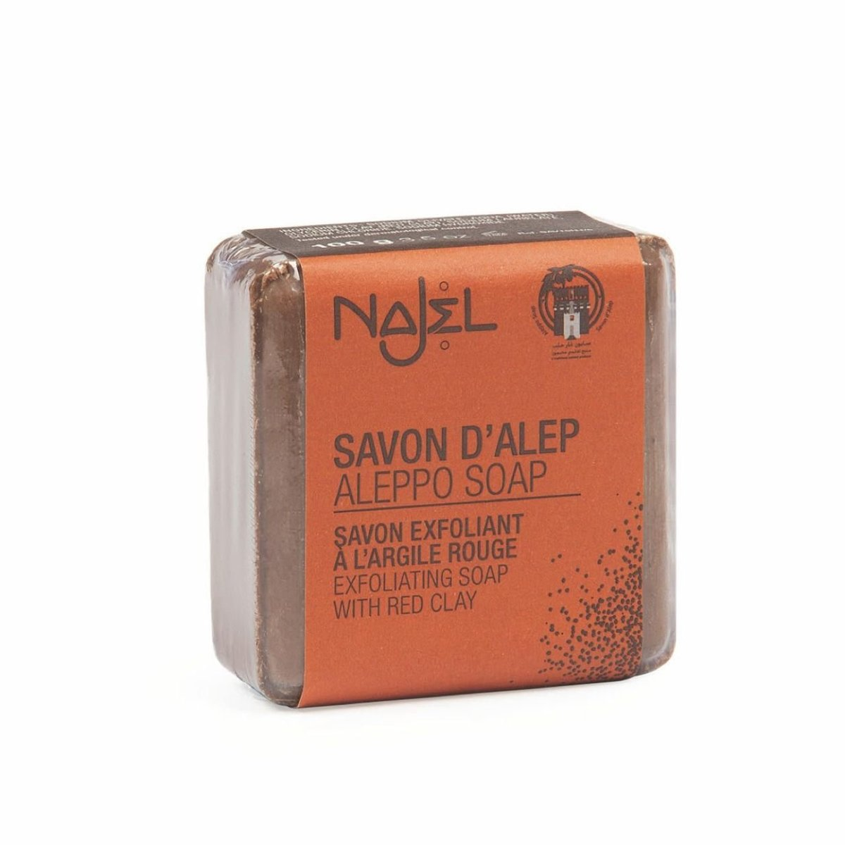 Aleppo Soap with Red Clay