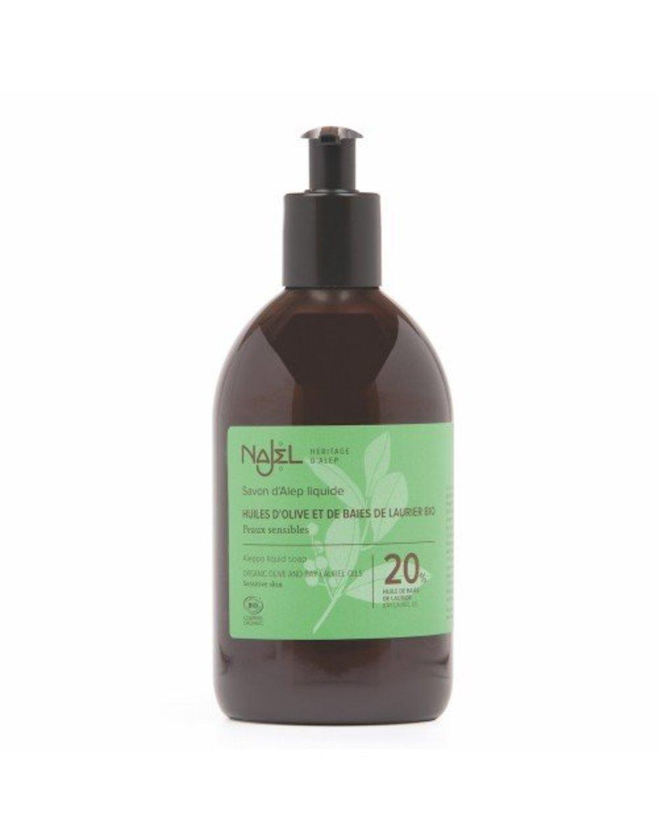 有機阿勒頗皂液 (20%月桂油) 香港行貨 法國品牌 殺菌消毒不傷手