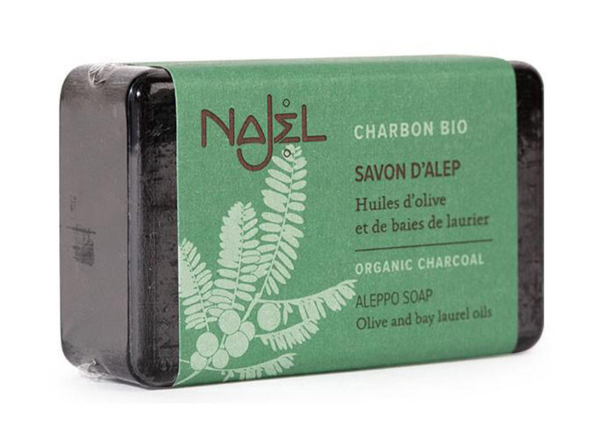 Aleppo Soap with Organic Charcoal
