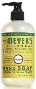Mrs. Meyers Clean Day Mrs. Meyer's Clean Day 洗手液,用精油製成,金銀花香味,平行進口 Honeysuckle Scent 370ml