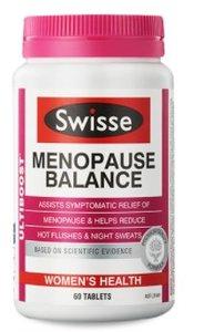 Swisse 強效更年期平衡營養補充片 60片 [平行進口]