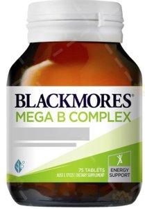 BLACKMORES 複合維生素B族 75粒 (平行進口貨)