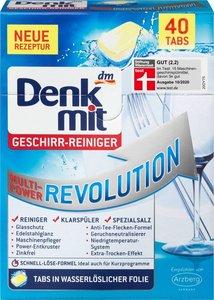 Denkmit Denkmit 新配方強力洗碗機餐具清潔方塊 40粒