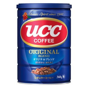 UCC 日本原味混合咖啡粉 (罐) 360g 360g x 1