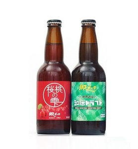 網走 北海道網走啤酒 - 櫻桃水滴啤酒(330ml)+知床啤酒 (330ml)  - 日本啤酒 - 可能係世界上最好飲既啤酒