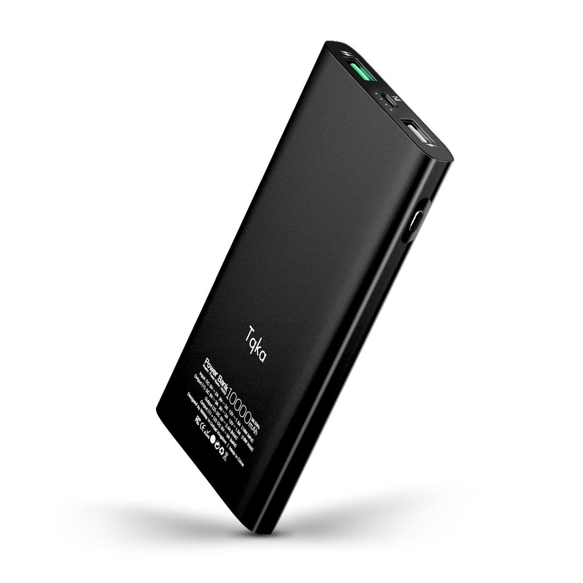 10000mAh Portable Charger Quick Charge 3.0 Input & Output Power Bank KA021
