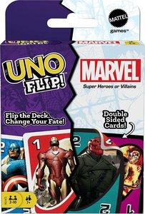 桌面遊戲 UNO Flip Marvel 反轉UNO 復仇者聯盟 漫威〡美國平行進口
