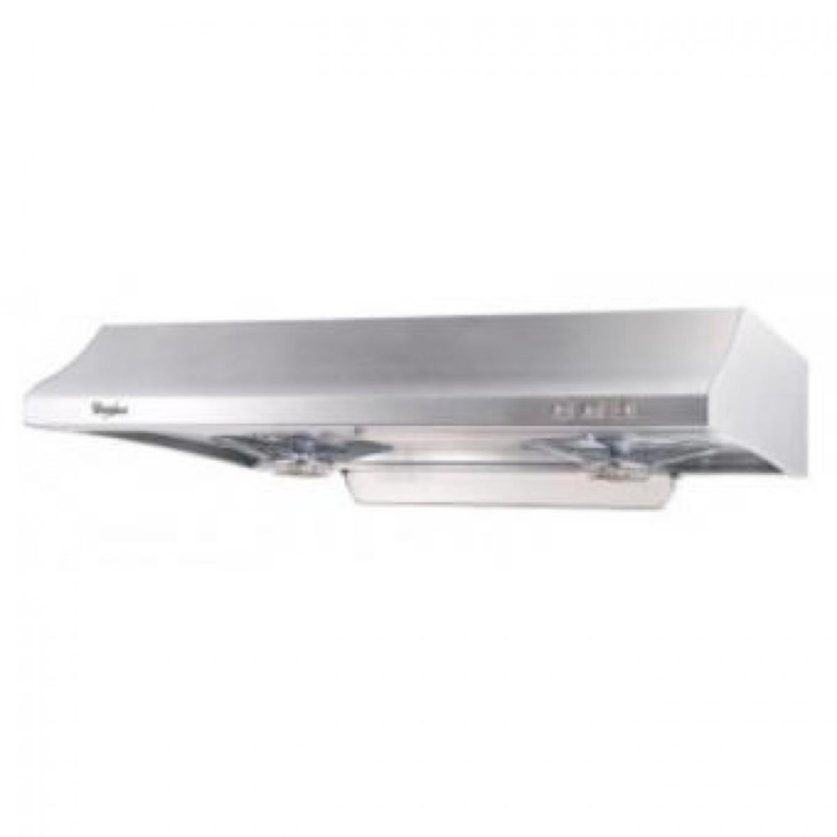 HE438S 710mm Detachable Cooker Hood (Stainless steel) - 1-year Whirlpool Warranty