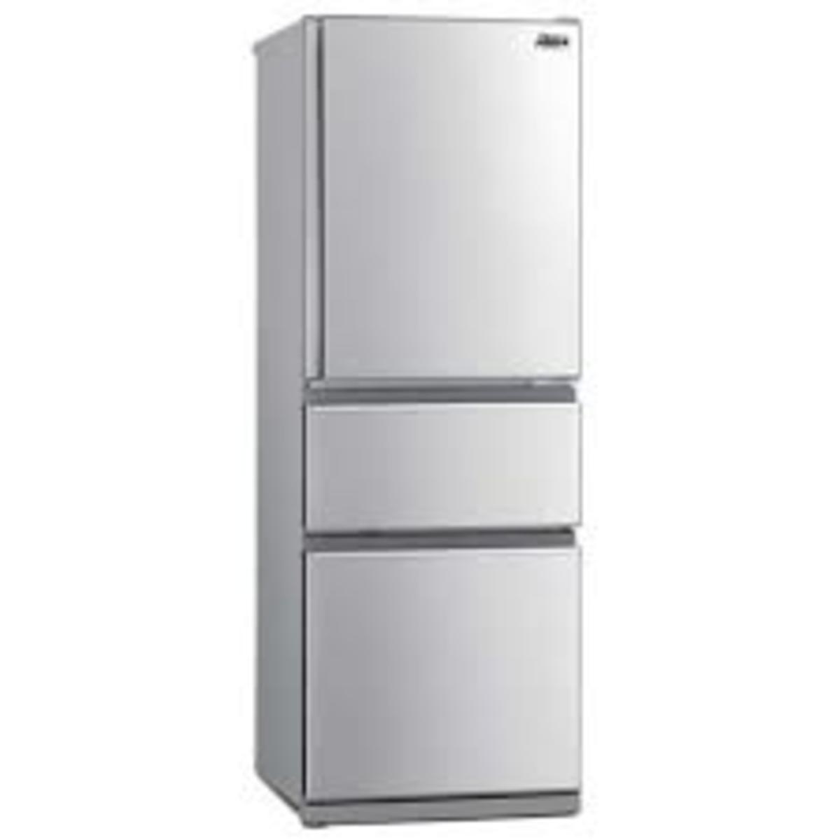 MRCX41EJ-ST 266 Liters 3-Door Inverter Refrigerator - Stainless Steel (5-year Warranty)