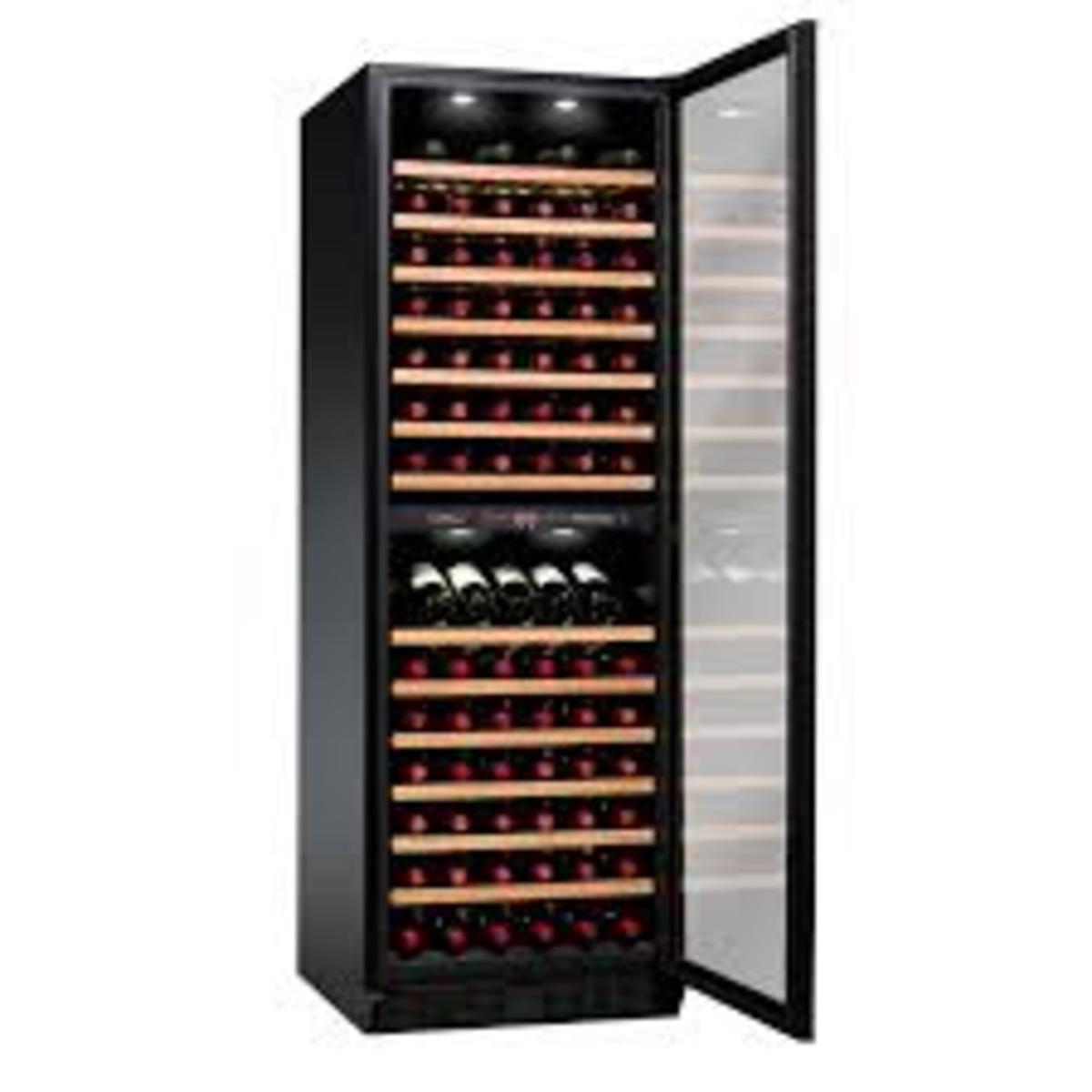 VZ125BDHK Dual Zone Wine Cellar (125Bottles) - 2-year Warranty