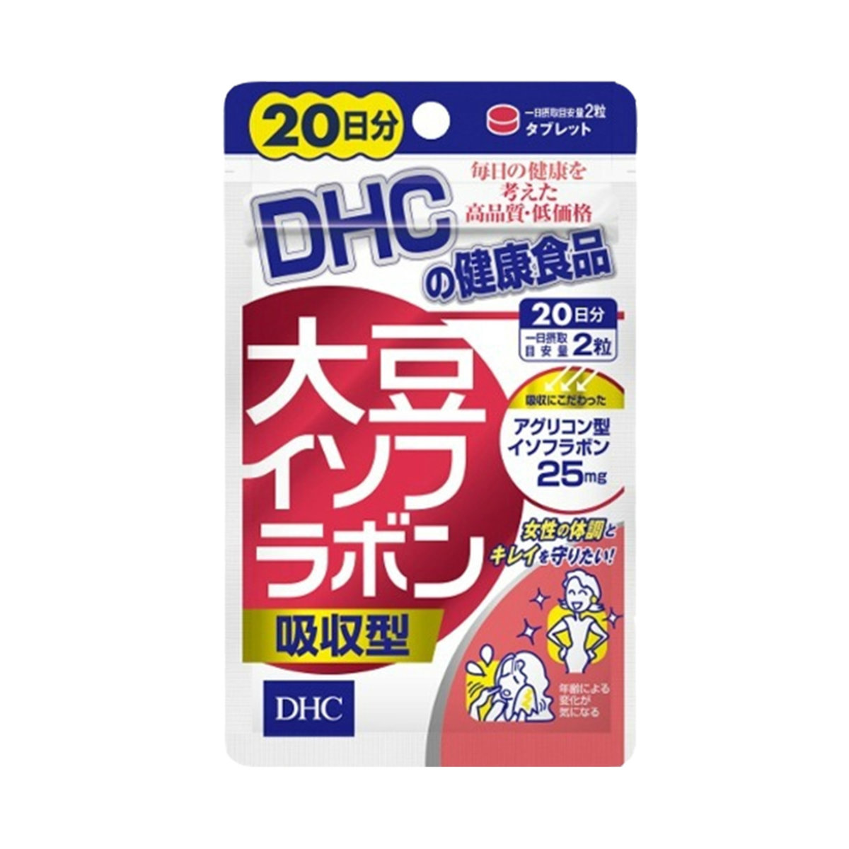 DHC Soy Extract (20Days) 40 Tablets (Parallel Import)
