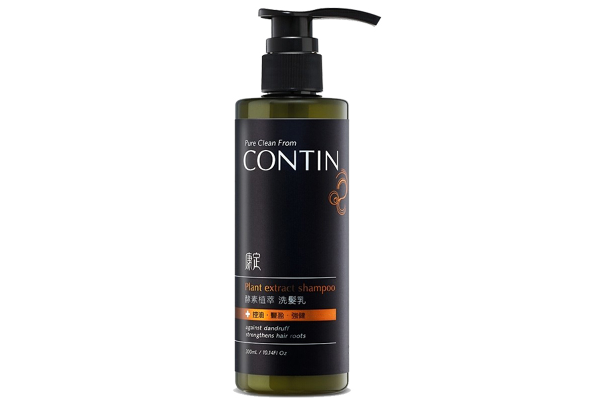 CONTIN Enzyme Plant Extract Hair Revitalizing Shampoo 300ml