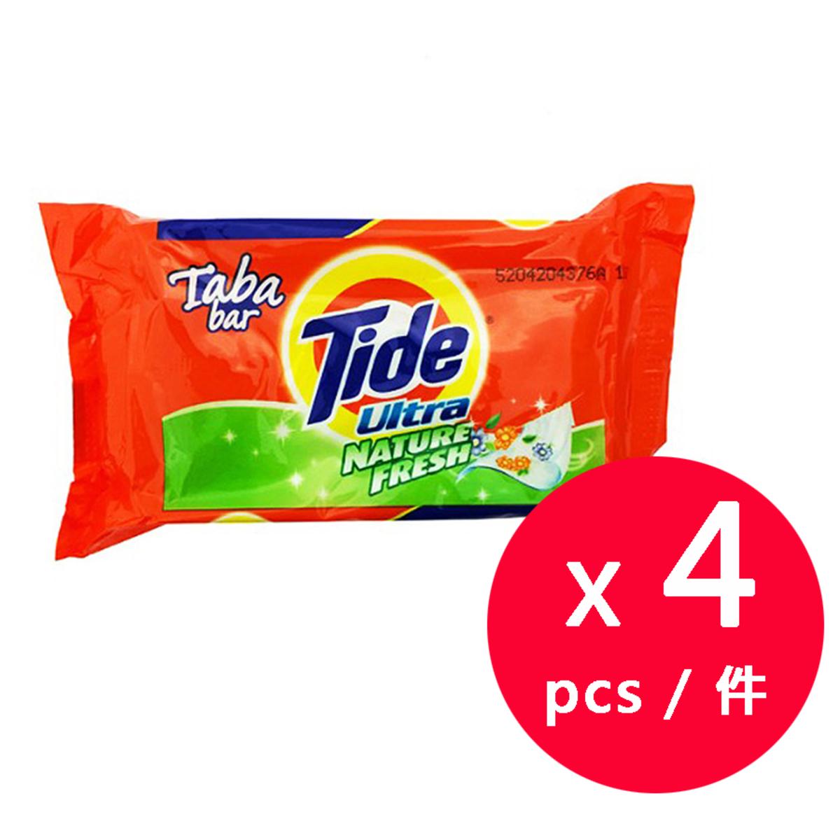 Tide加強除垢洗衣皂- 清香味 140克 x 4件 (平行進口)