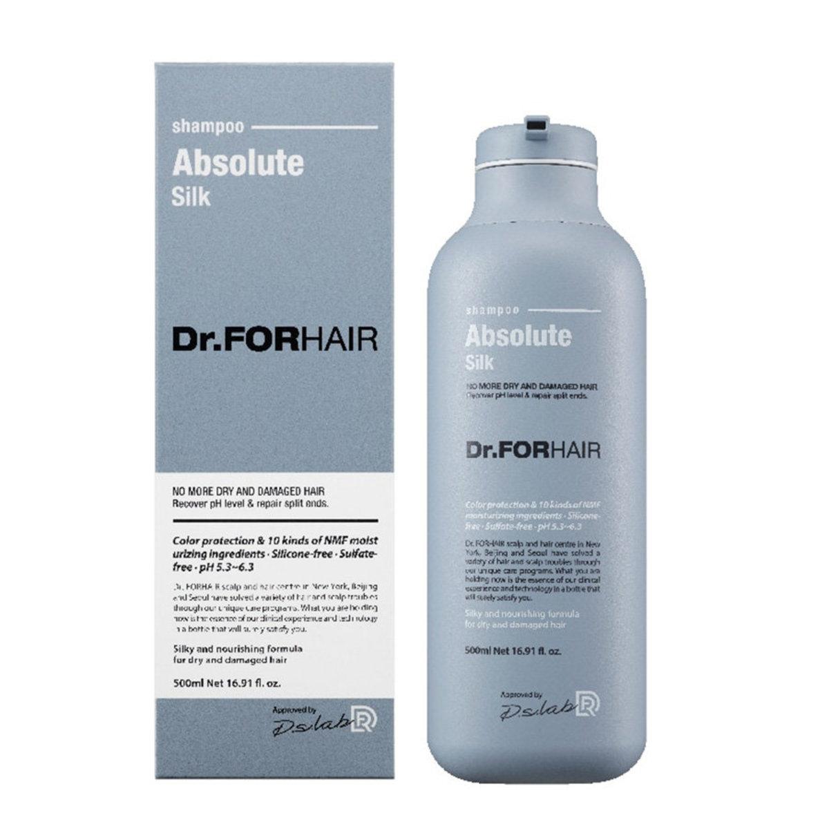 Dr.FORHAIR 深層修護受損髮質絲柔洗髮乳 500ml (平行進口)-1731