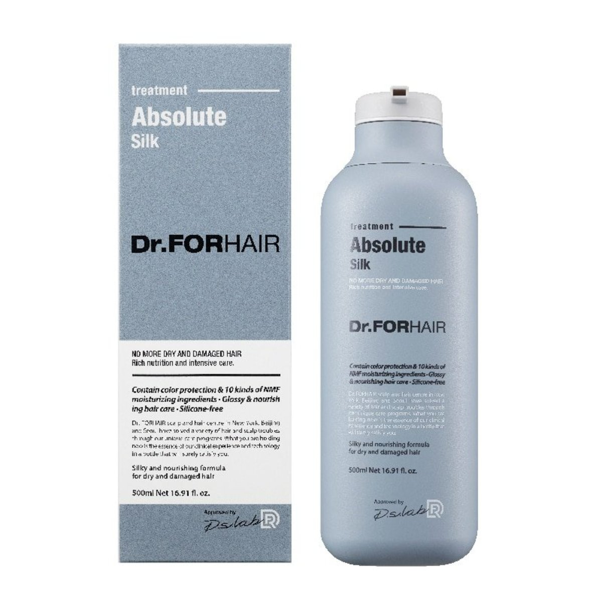 Dr.FORHAIR Absolute Silk Treatment 500ml (Parallel Import) -1748