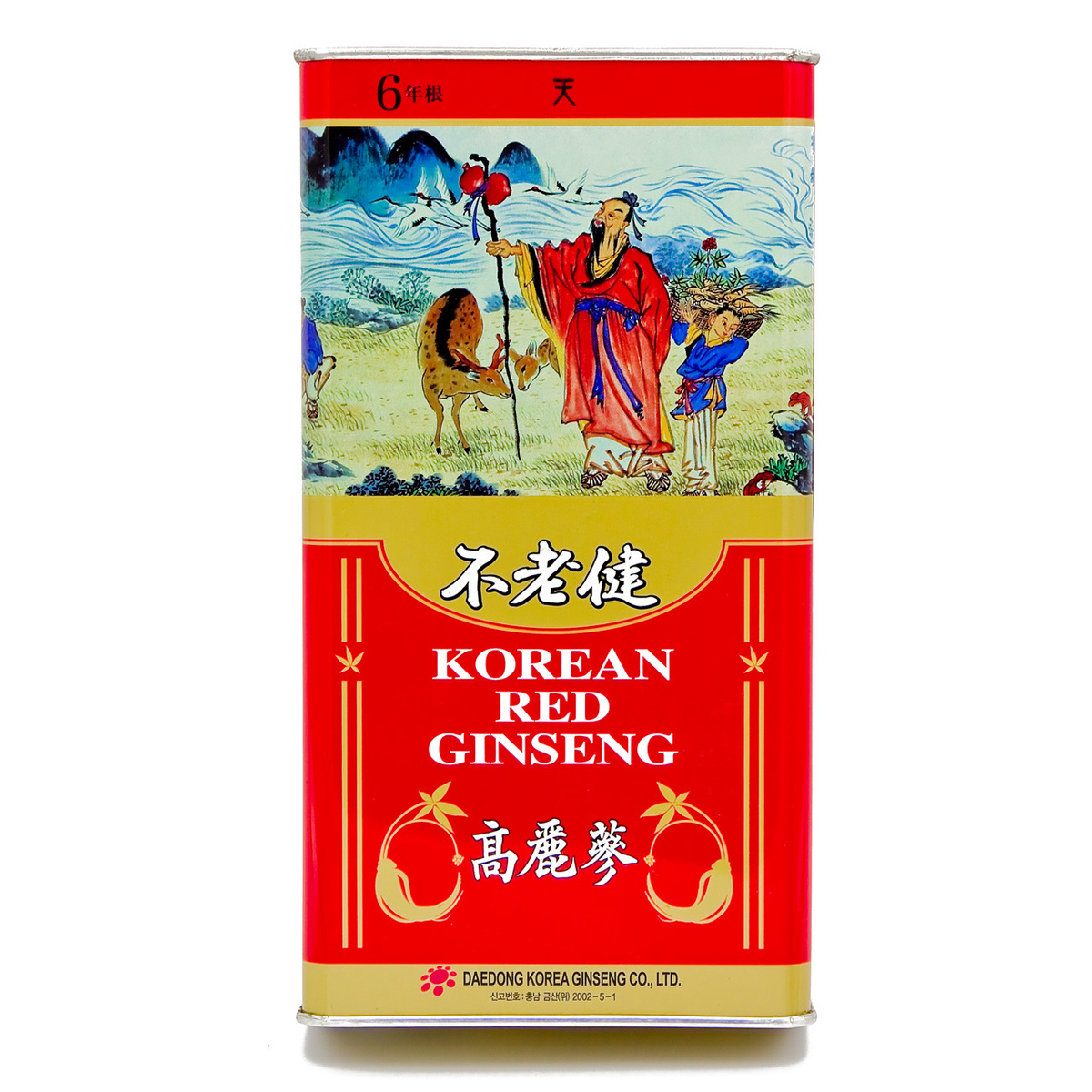 Korean Red Ginseng Root Heaven 150g (15 roots)