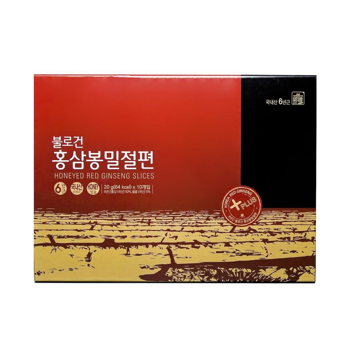 高麗蜂蜜紅蔘切片 禮盒裝