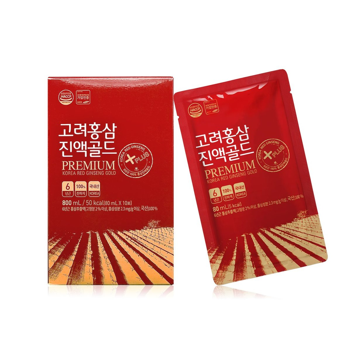 Korean Red Ginseng Gold Drink (10pcs)