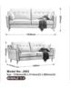 Japanese-style Modern fabric sofa J002(Green)