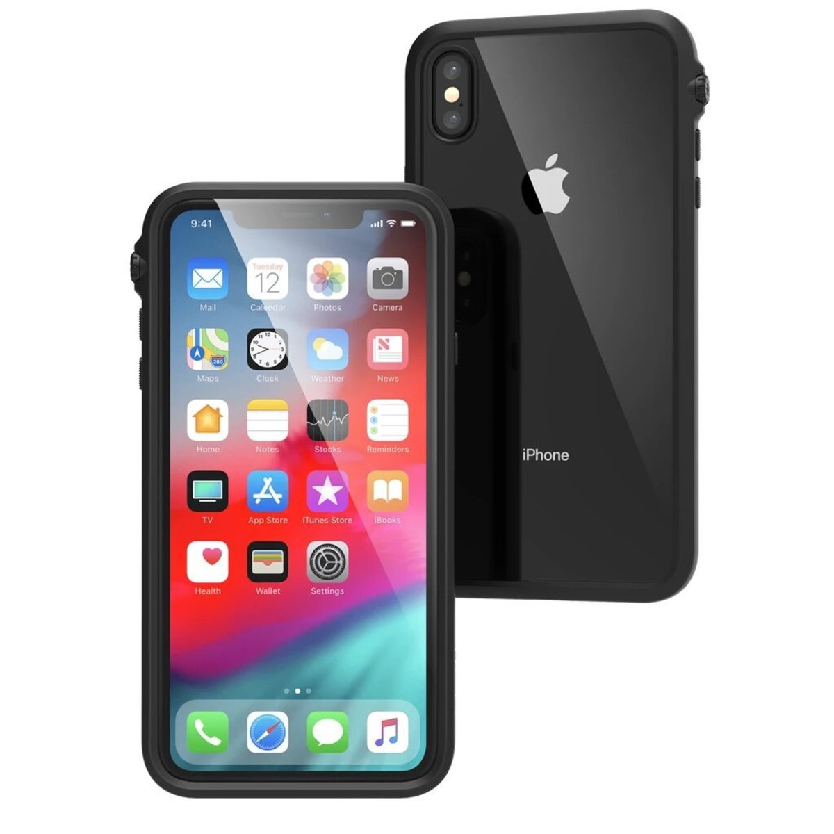 Catalyst® Impact Protection Case for iPhone XS MAX - Stealth Black