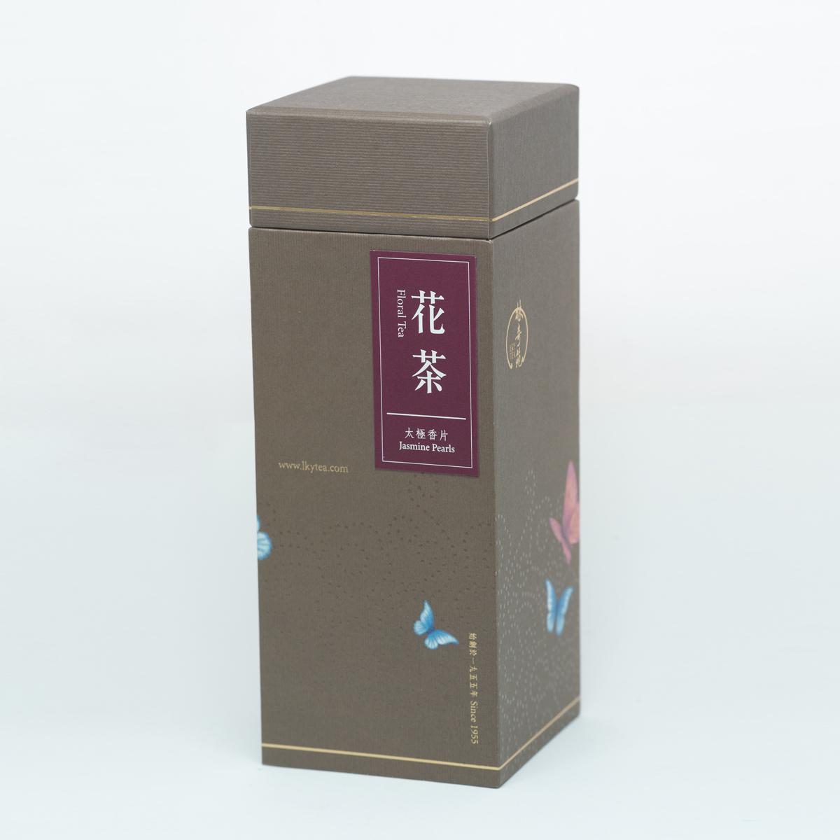 <Pleasure Greeting Series - Butterfly> Jasmine Pearls